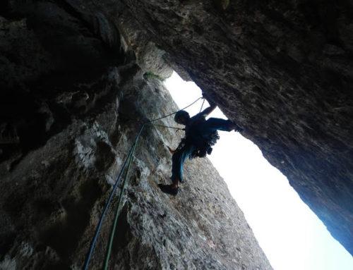***** Via dels Sostres (275m, 6a+, V+ obligat) – Paret de l'Aeri (Montserrat)