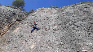 Sortida guiada, escalada esportiva