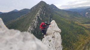 Sortida guiada de crestes i alpinisme