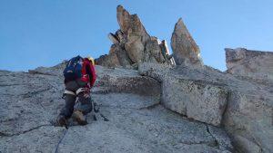 Sortida guiada d'alpinisme i crestes