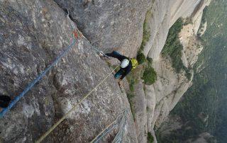 Sortides guiades d'escalada