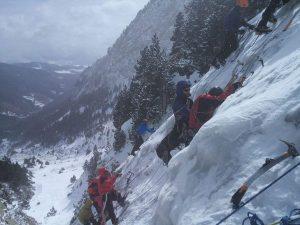 Escalada amb gel curs