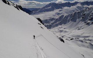 Sortida guiada, esquí de muntanya