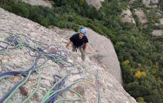Trad Climbing in Montserrat