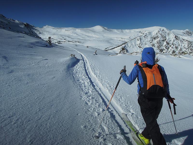 Bateig esquí de muntanya