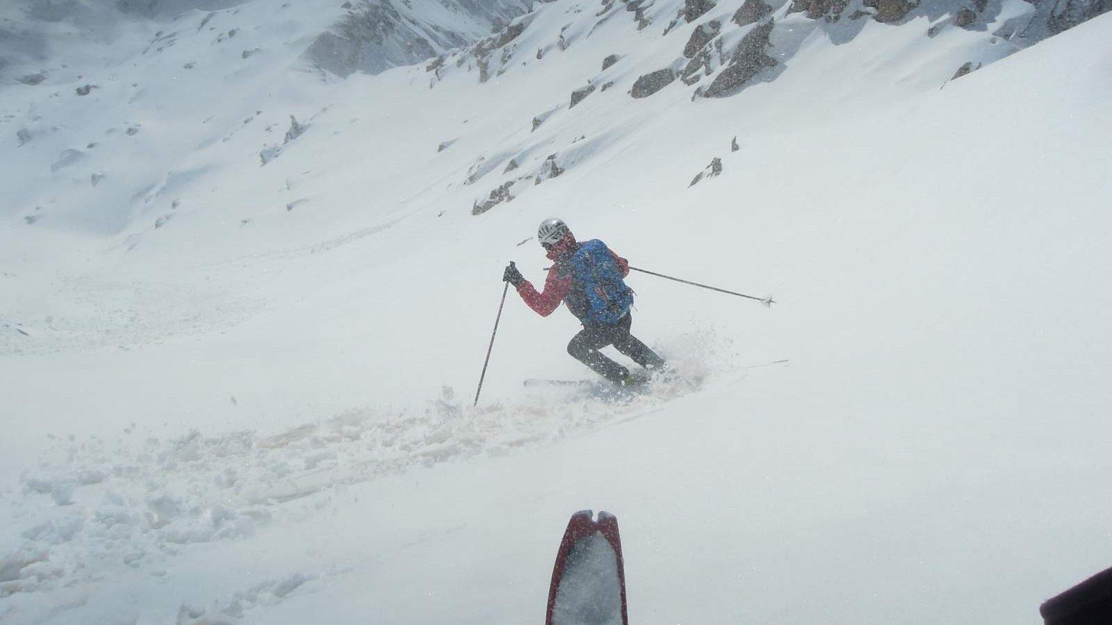 Sortida amb guia, Esquí de muntanya