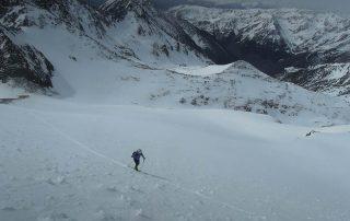 Bateig esquí de muntanya amb guia