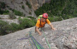 Climbing in Montserrat (Barcelona)