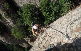 Guided Barcelona Experiences: rock climbing, bike and hike