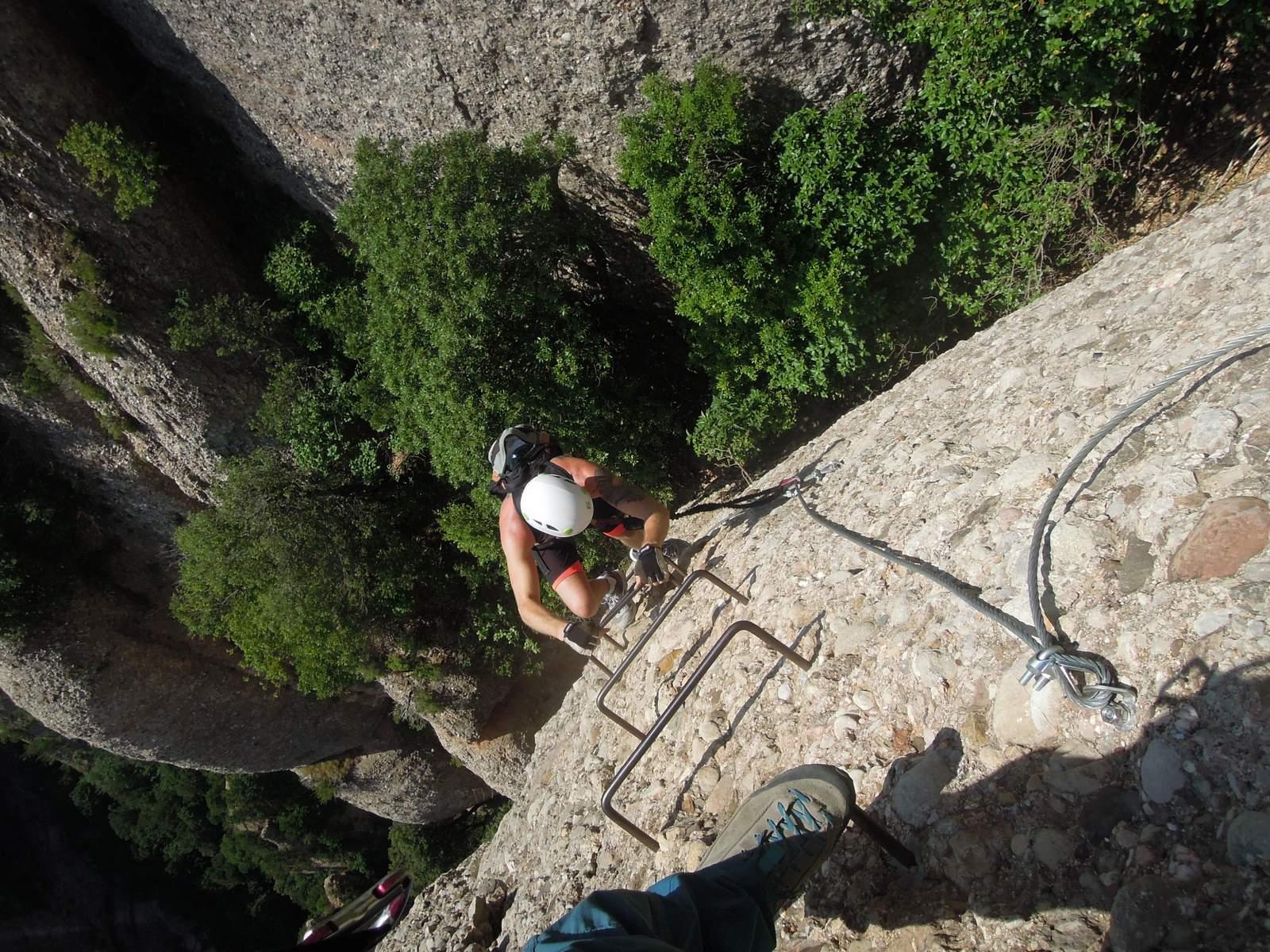 Via Ferrada in Montserrat