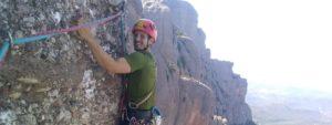 Rock climbing in Montserrat