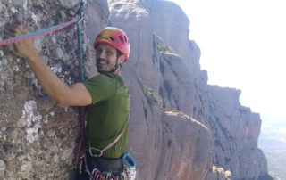 Guided Rock Climbing in Montserrat