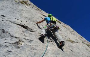 Single pitch climbing