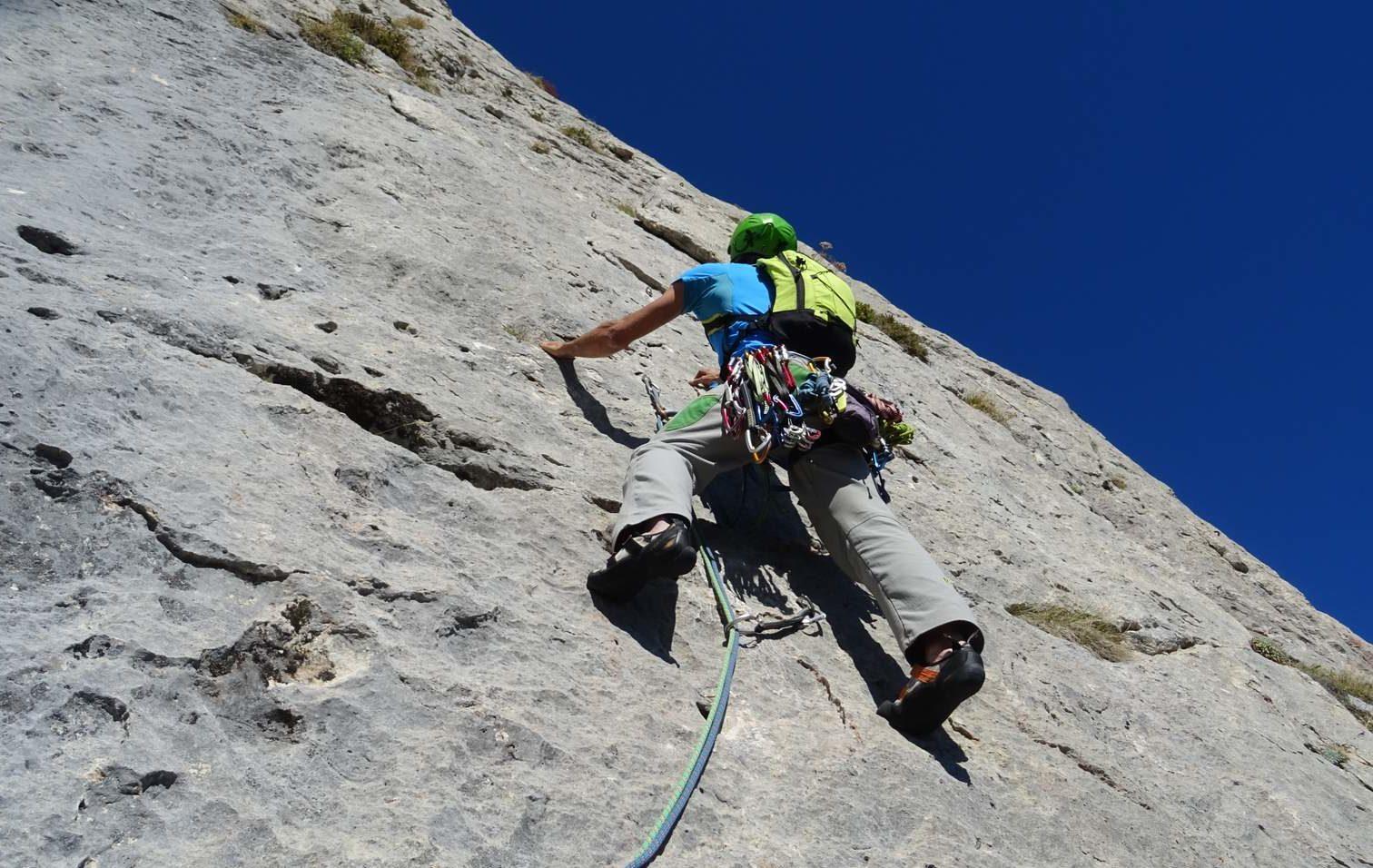 Climbing in Tarragona region