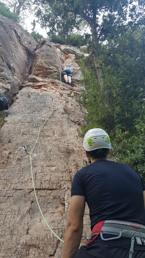 Curs d'escalada, nivell 1