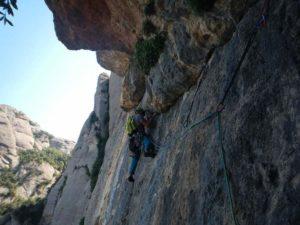 Guided Trad Climbing in Barcelona Region