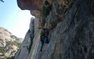 Guided Trad Climbing in Barcelona Region